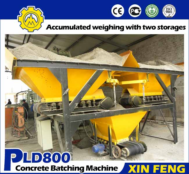 PLD800 Concrete Batcher Machine