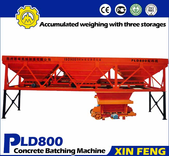 PLD800 Concrete Batching Machine