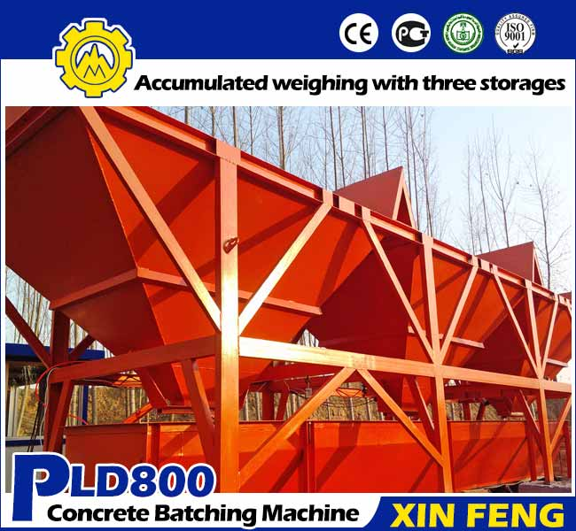 PLD800 Concrete Batcher