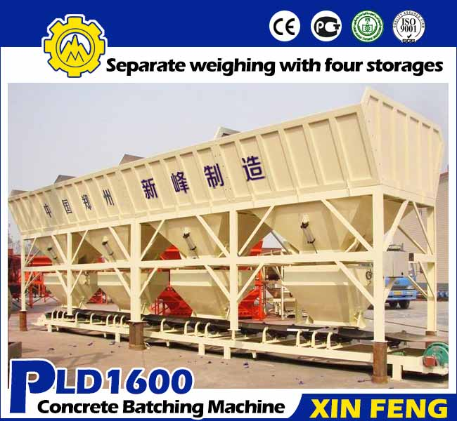 PLD1600 Concrete Batching Machine