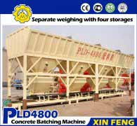PLD4800 Concrete Batching Systems