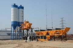 <b>HZS50 Concrete Batching Plant in Southeast Asia</b>